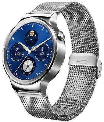 Смарт-часы Huawei 42mm Stainless Steel - Silver Stainless Steel Link для Apple и Android устройств