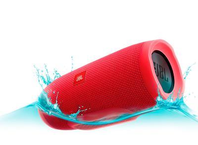 Влагозащищенная акустика JBL Charge 3 (red)