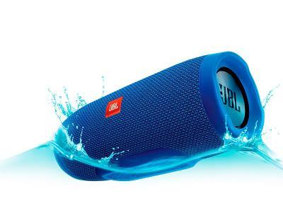 Влагозащищенная акустика JBL Charge 3 (blue)
