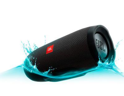 Влагозащищенная акустика JBL Charge 3 (black)
