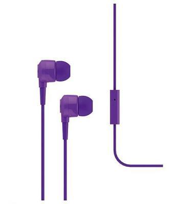 Наушники Ttec Joy (MKRN) вакуумные + гарнитура (violet)