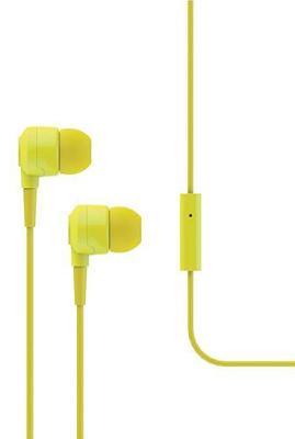 Наушники Ttec Joy (MKRN) вакуумные + гарнитура (yellow)