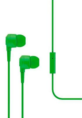 Наушники Ttec Joy (MKRN) вакуумные + гарнитура (green)