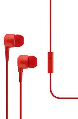 Наушники Ttec Joy (MKRN) вакуумные + гарнитура (red)