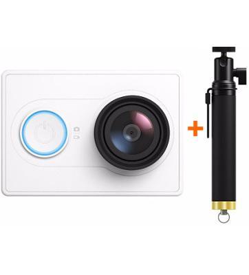 Камера Xiaomi Yi с моноподом (White)