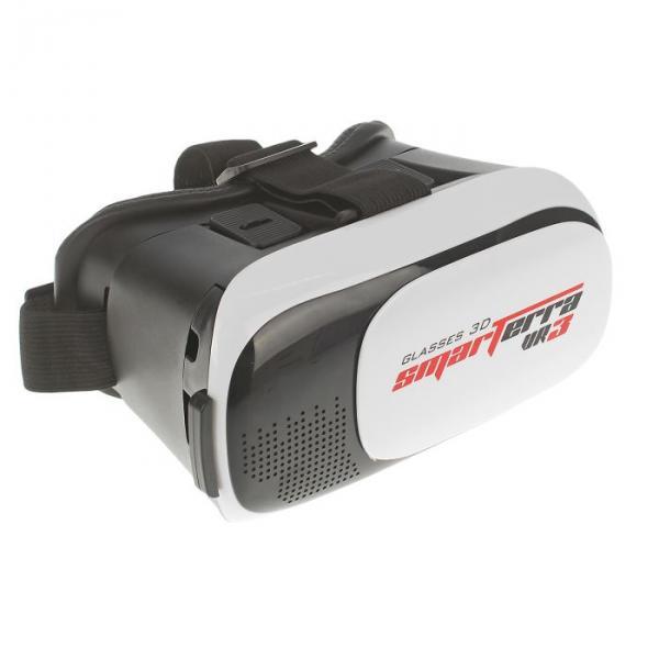 3D очки SMARTERRA VR3, для смартфонов, черно-белый
