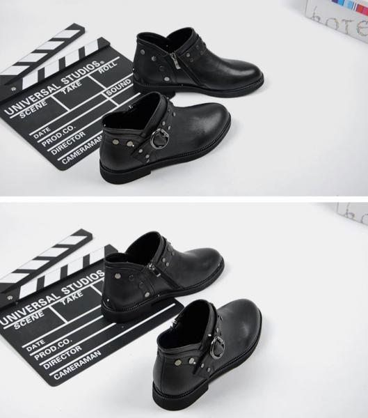 Ботинки . Кожа