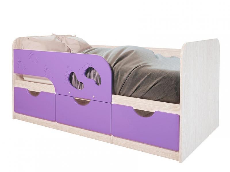 Фото Детская мебель Кровать Минима Лего 1,86м (БТС)