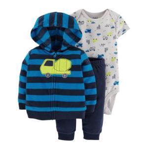 Фото В наличии , Детская одежда, Одежда от 0 до 2 лет Комплект CARTERS 3 в 1