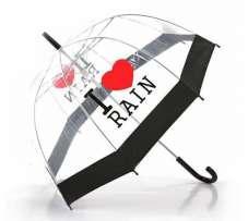 Фото  Прозрачный зонт