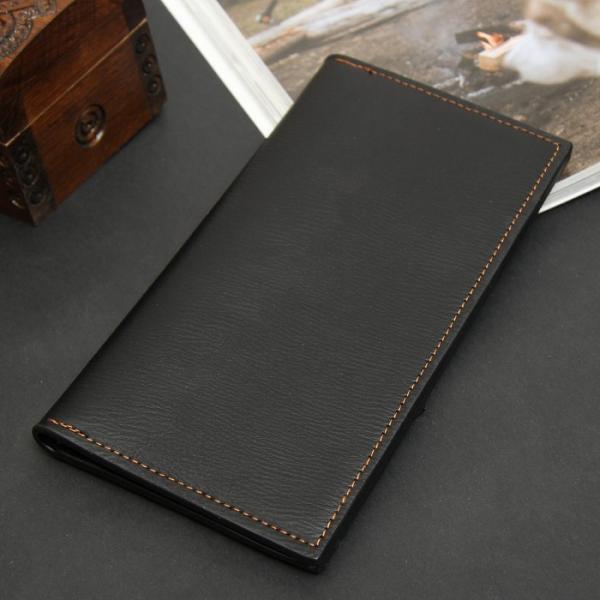 Портмоне мужское, 2 отдела, для карт, с вкладышем, цвет чёрный