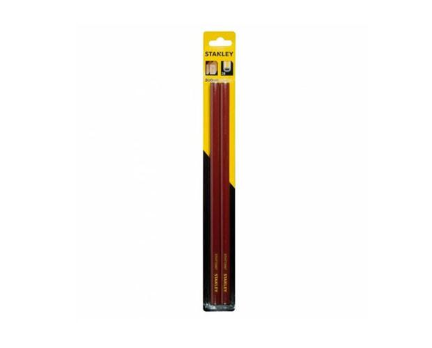 Карандаш плотника 30см (2шт) грифель 2В  STANLEY STHT0-72997