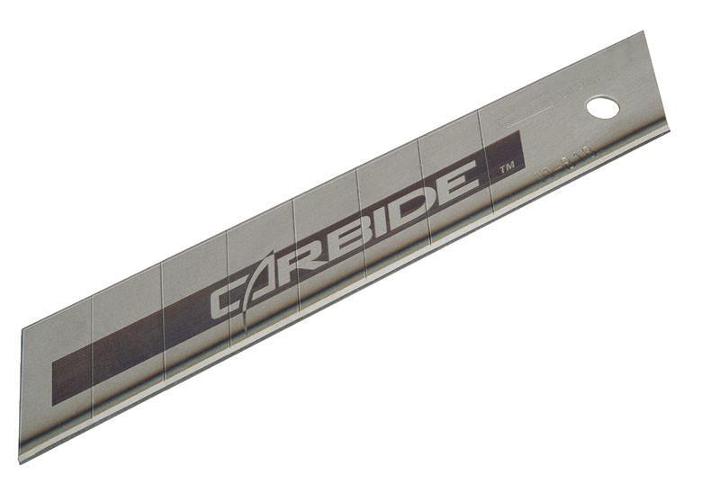 """Лезвие 18мм с отламывающимися сегментами """"Carbide"""" 5шт.  STANLEY STHT0-11818"""