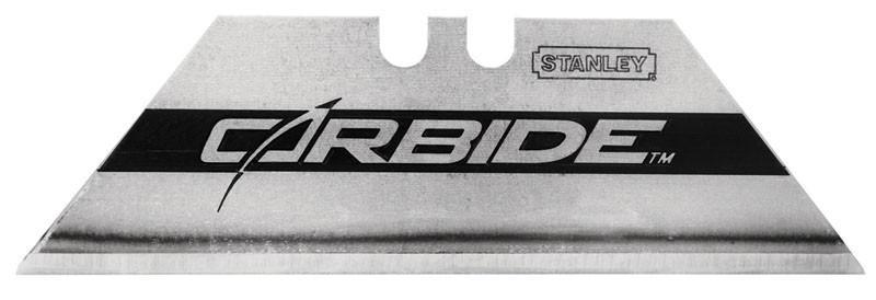 "Лезвие для ножа ""Carbide"" 19Х0,6Х62мм 5шт.  STANLEY 0-11-800"