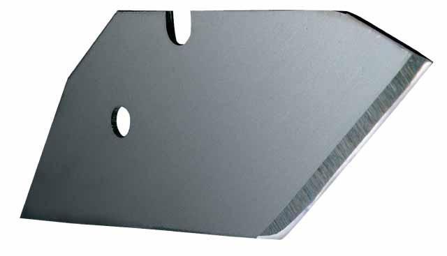 Лезвие ножа 5191 скошеное для листовых матер. 5шт.     STANLEY 0-11-951
