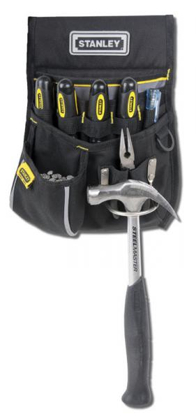 "Сумка поясная  STANLEY ""Basic Tool Pouch"" для инструмента, полиэстер, 235x332x75 мм."