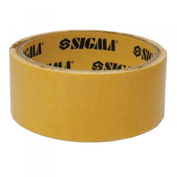 Скотч 2-хсторонний на полипропиленовой основе 38ммх25м  sigma 8401731