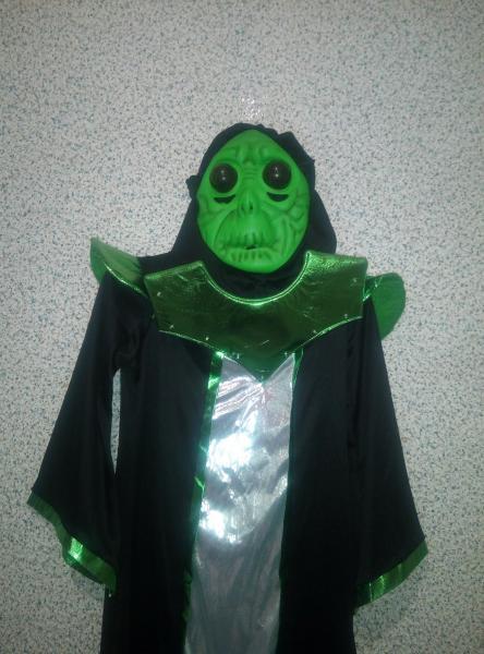 Карнавальный костюм Пришелец НЛО