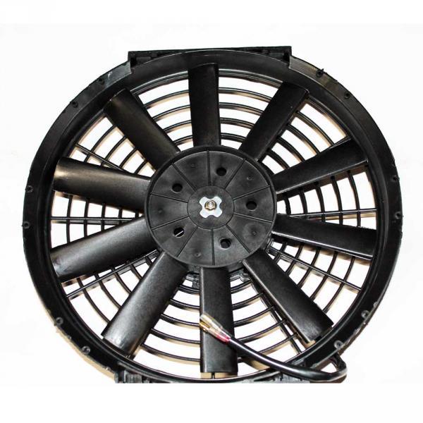 Вентилятор осевой  10''  12V  PULL    80W прямые лопасти, корпус тип В