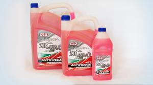 Фото Моторное масло Антифриз-40 G12 PREMIUM розовый
