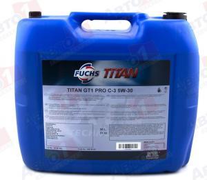 Фото Моторное масло FUCHS Синтетика TITAN CARGO MAXX 5W-30 20л ACEA E9/E7/E6/E4
