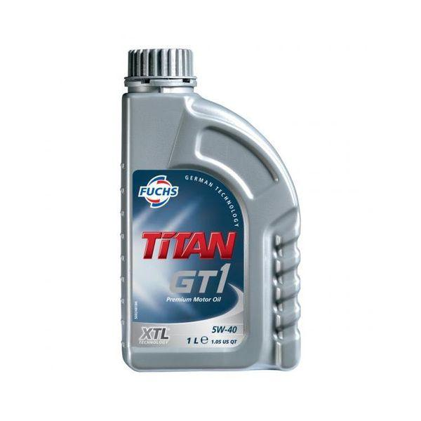 Моторное масло TITAN GT1 5W-40 1л SN LL-04 505.01 FUCHS Синтетика