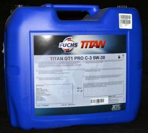 Фото Моторное масло Масло моторное TITAN GT1 5W-40 20л SN LL-04 505.01 FUCHS Синтетика
