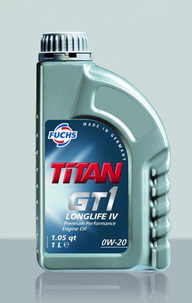 Масло моторное  TITAN GT1 LONGLIFE IV 0W-20 4л VW 508.00/509.00 FUCHS Синтетика