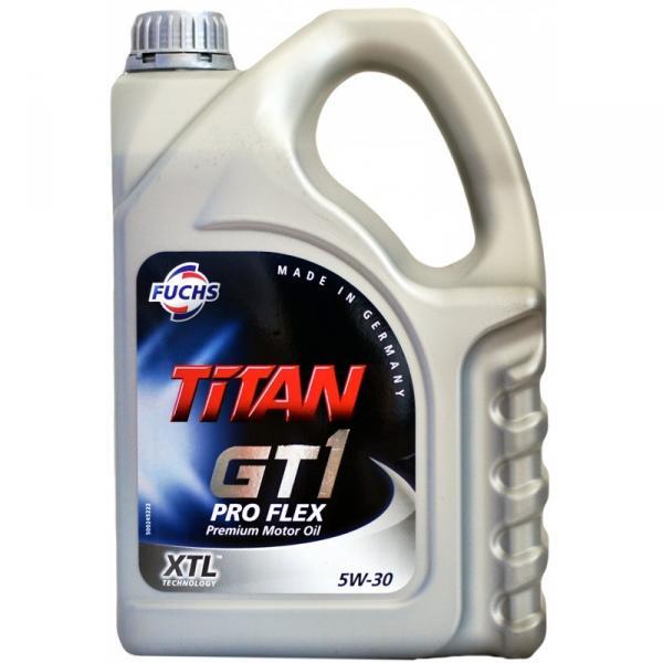 Моторное масло TITAN PRO FLEX 5W-30 FUCHS Синтетика