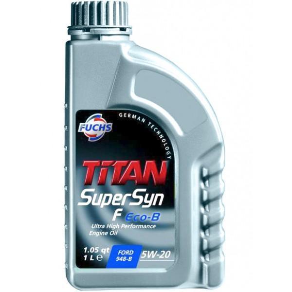 Моторное масло TITAN Supersyn F ECO-B 5W-20 FUCHS Синтетика