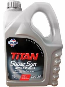 Фото Моторное масло Моторное масло FUCHS Titan Supersyn LONGLIFE 5W-40 Синтетика