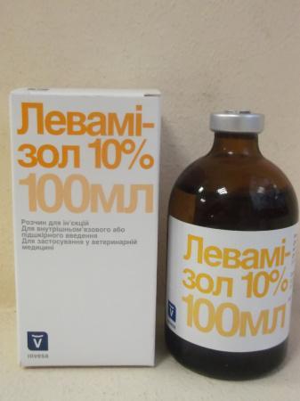 Левамізол Инвеза 100мл продукт