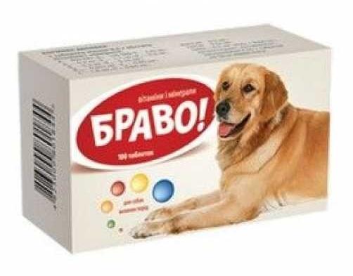 Вітаміни Браво для собак велик порід №100 ARTERIUM
