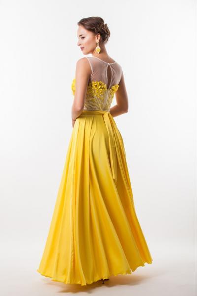 Длинное вечернее платье Seam 4650