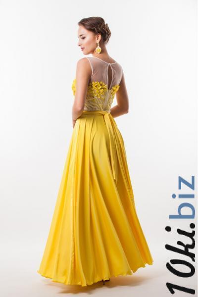 Длинное вечернее платье Seam 4650 Вечерние платья в БП Румянцево