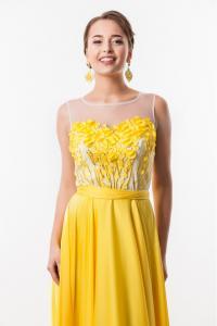 Фото Вечерние платья Длинное вечернее платье Seam 4650