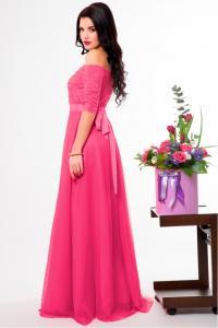 Фото Вечерние платья Длинное вечернее платье Адель