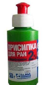 Присипля для ран з йодоформом 2% 50 г O.L.KAR
