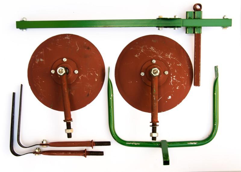 ЛАН Культиватор (дисковый окучник 2в1)