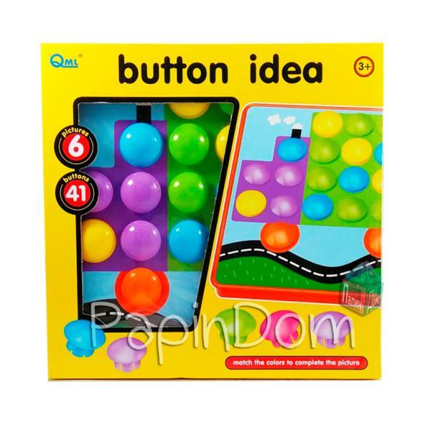 Мозаика Цветная фантазия Пуговички 6*41 Button Idea