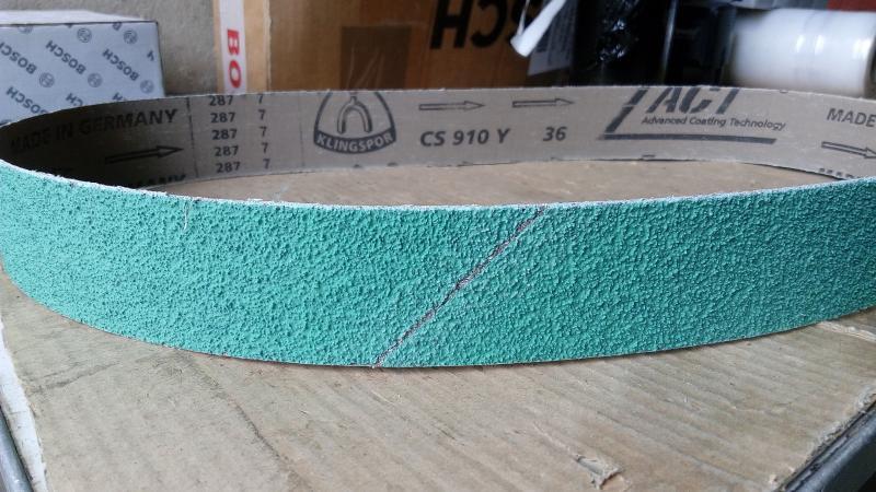 Шлифовальная лента  для Гриндера керамическая CS910Y Klingspor Ceramic
