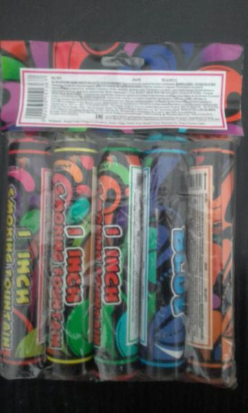 Дым MA0511mix/упаковка 5 цветов