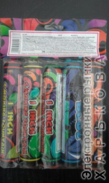 Дым MA0511mix/упаковка 5 цветов - Цветные дымовые шашки на рынке Барабашова