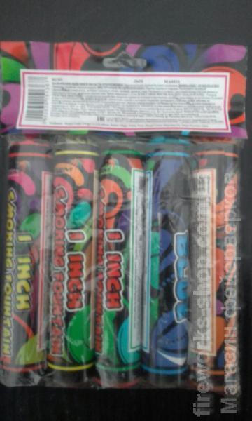 Фото Цветные дымы Дым MA0511mix/упаковка 5 цветов