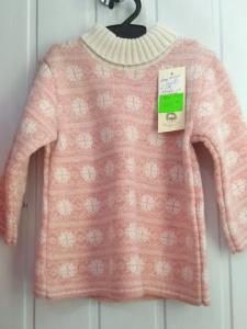 Фото Кофты, пайты толстовки, рубашки, свитера МАЛЬЧИКАМ И ДЕВОЧКАМ РАСПРОДАЖА! Свитер туника для девочки  1-2 года