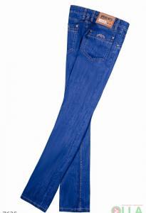 Фото  Однотонные джинсы
