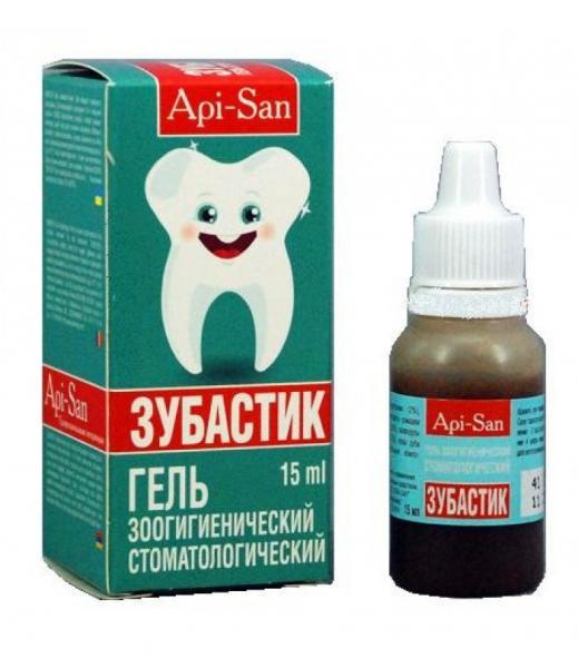 Зубастік гель 15мл API-SAN