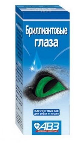 Краплі очні Діамантові очі 10мл АВЗ