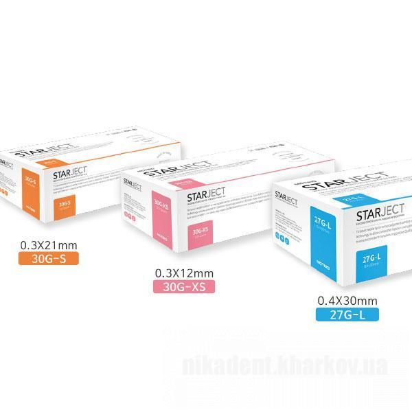 Фото Для стоматологических клиник, Расходные материалы Иглы карпульные StarJect (СтарДжект) - Корея