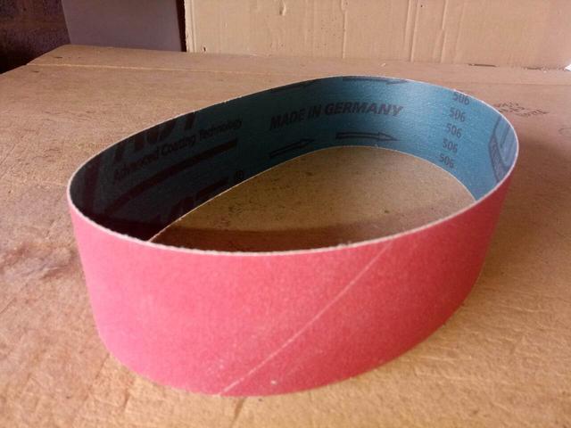 Шлифовальная лента для гриндера керамика CS912Y Klingspor